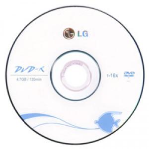Диск DVD-R LG 4.7Gb 16x в Морском фото